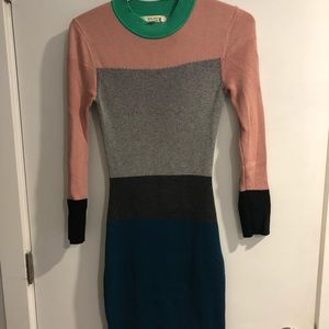 Size 0 Ted Baker sweater dress